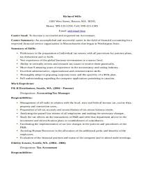 Sample Resume For Tax Accountant by 33 Accountant Resume Samples