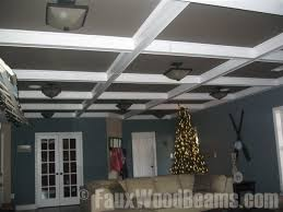 What Is A Coffered Ceiling by What Is A Coffered Ceiling Faux Wood Workshop