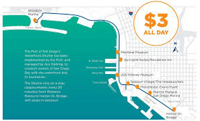 Petco Park Map San Diego Hotels Port Of San Diego Shuttle Returns To Sheraton