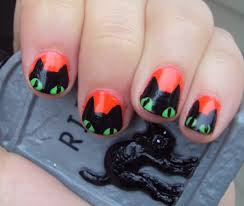 picture of halloween cats 24 fine halloween cat nail art u2013 slybury com
