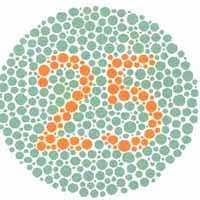 Blue Color Blind Test Ishihara Test For Color Blindness