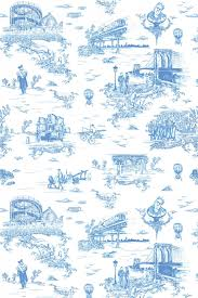 brooklyn toile flavor paper