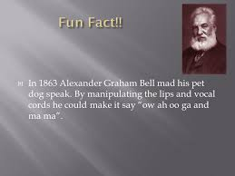 facts about alexander graham bell s telephone alexander graham bell by lucas verbeek ppt download
