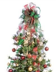 decorating a tree with ribbon lovetoknow