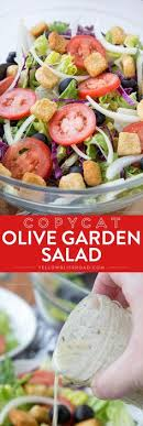 Garden Salad Ideas Olive Garden Salad Recipe Olive Garden Salad Olive Gardens And