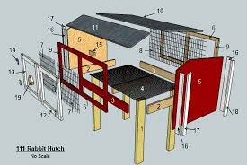 Rabbit Hutch Instructions 13 Epic Free Rabbit Hutch Plans You Can Download U0026 Build Today