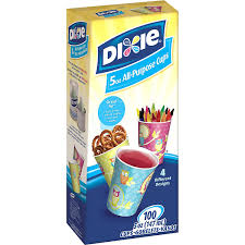 dixie cups dixie bath cups 5 oz 100 count kitchen dining