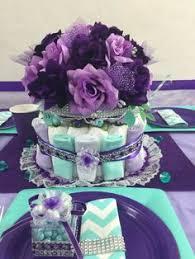 purple tutu baby shower centerpiece stuff i made pinterest