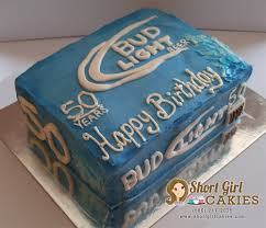 bud light party box custom event cakes short cakies