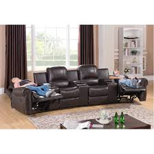 cool home theaters view 4 seat home theater recliner cool home design marvelous