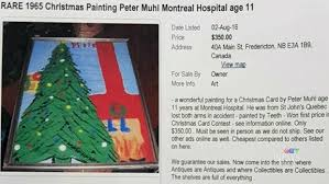Christmas Decorations Online In Canada by Double Amputee Reconnected With Art He Painted As Boy In Hospital