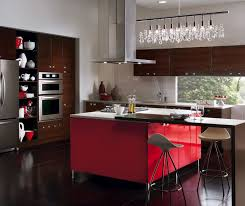 Red Gloss Kitchen Cabinets Red High Gloss Thermofoil Cabinets Kitchen Craft