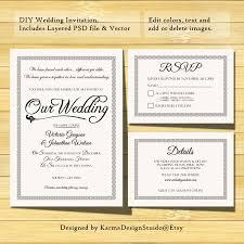 Design Card Wedding Invitation Wedding Invitation Details Card Lilbibby Com