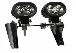 white led motorcycle light kit motorcycle led off road headlight kit features 10 watt led lights