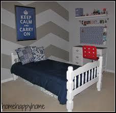 chevron teen bedroom