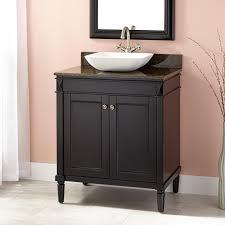 Espresso Vanity Bathroom 30