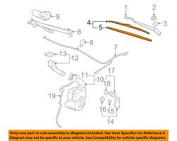 nissan leaf wiper blades parts u0026 accessories ebay motors