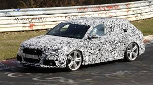 2012 audi wagon new audi rs6 avant first spy photos at nurburgring