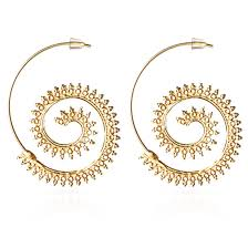 buy earrings online golden hoop earrings buy hoop earrings online at kacyworld