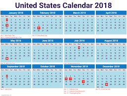printable calendar with holidays 2018 2018 printable calendar with united states holidays newspictures xyz