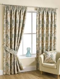 Terracotta Curtains Ready Made by Fragrance Ready Made Lined Curtains Aqua Pencil Pleat Curtains