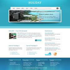free website templates dreamweaver blue website templates