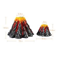 artificial tree plant grass fish tank decoration volcano rock