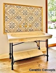 Portuguese Tiles Kitchen - murals or backsplashes hand painted tile art decorative ceramic