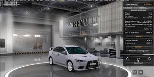 mod car game euro truck simulator 2 mitsubishi lancer v1 0 car euro truck simulator 2 mods