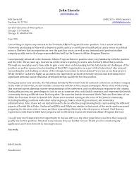 awesome collection of cover letter for non profit ceo position for