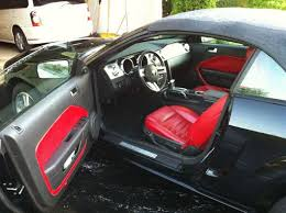 2005 ford mustang gt interior find used 2005 ford mustang gt convertible 98k mi interior