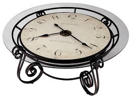 Clock Coffee Table Howard Miller 615 010 Ravenna Cocktail Table Clock By