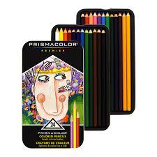 prisma color pencils prismacolor premier colored pencils 24 set soft markersnpens