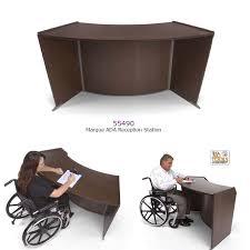 Mobile Reception Desk Ada Reception Desks Sale Free Shipping