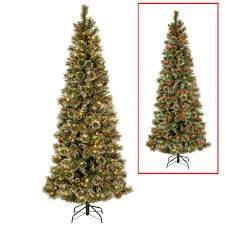 national tree company 9 ft powerconnect glittering pine