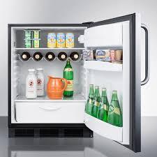 summit ff63bcssada 5 5 cu ft freestanding compact refrigerator