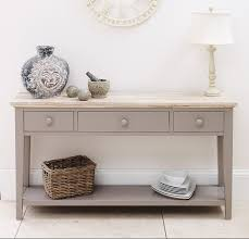 awesome modern console table with drawers hallway and mirror