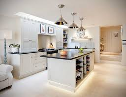 White Kitchen Cabinets With Gray Granite Countertops Granite Countertop White Kitchen Cabinets With Dark Backsplash