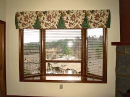 kitchen bow window treatments window treatments with modern style bay window kitchen curtains ideas
