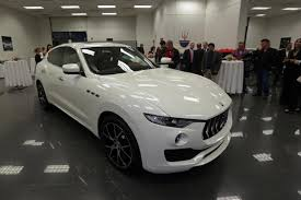 maserati suv interior 2017 dealership unveils new maserati levante suv boston herald