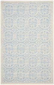 safavieh cambridge cam123a light blue and ivory area rug free
