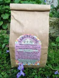 glacial rock dust compost tea and organic gardening
