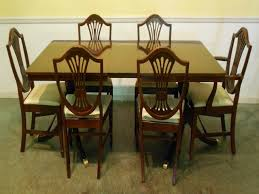 antique dining room table chairs 3423