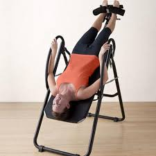 back relief inversion table gaiam back pain relief therapy adjustable ergonomic inversion