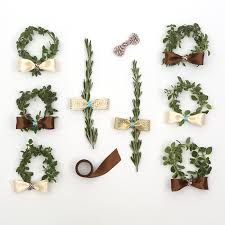 herb wreath offray herb wreath with bow tie