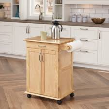 modern kitchen cart stainless steel countertop solid hardwood
