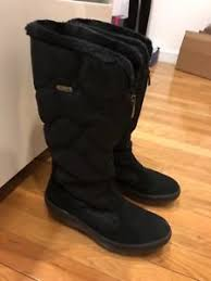 s zip boots pajar s zip up winter waterproof boots black size 40 ebay