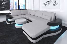 sofa u modern fabric sofa ta u shape led