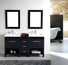 White Bathroom Vanity Without Top Vanities Ariel By Seacliff Summit 60 Double Sink Bathroom Vanity