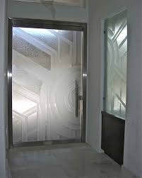 all glass frameless etched glass entry doors pinterest glass